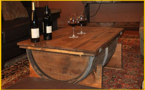 how to make a whiskey barrel table video how to make a table from a whiskey barrel page