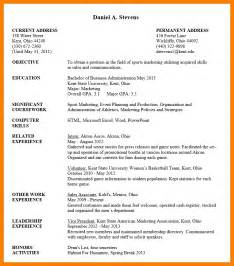 resume templates for students undergraduate student resume sle uxhandy