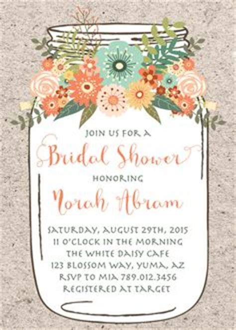 1000 Ideas About Mason Jar Invitations On Pinterest Invitations Bridal Shower Invitations Jar Invitation Template