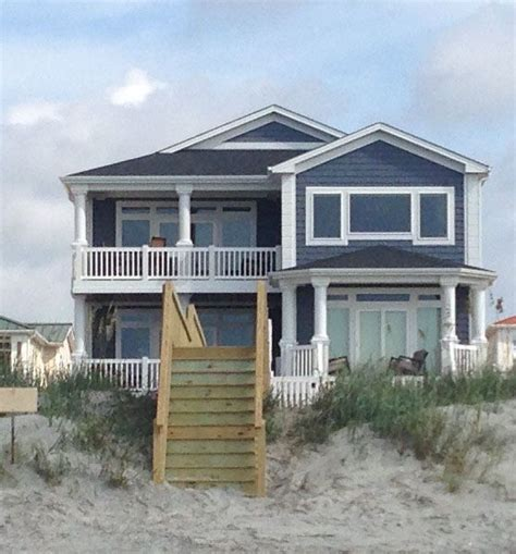 Spectacular New 6 Bedroom Ocean Front Private Vrbo Houses For Rent Isle Nc