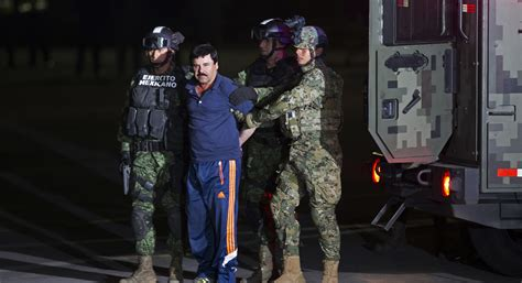 mexican drug lord el chapo lands   york  face