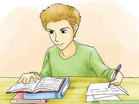 Do All Homework by How To Finish Your Homework 15 Steps With Pictures