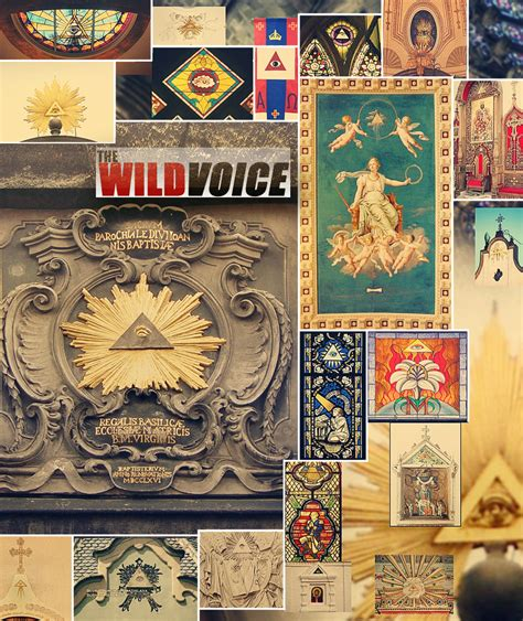 illuminati church all seeing eye in the catholic church the voice