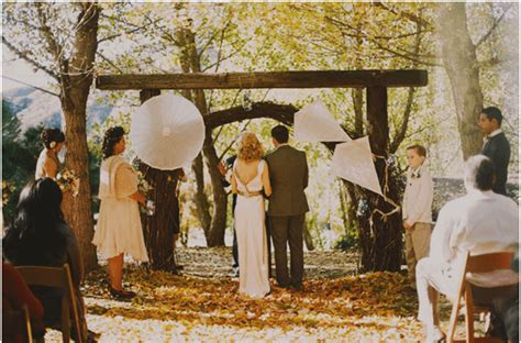 Wedding Ceremony Non Traditional non traditional wedding ceremony events and ideas