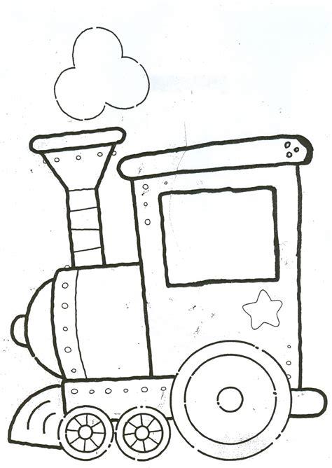 imagenes para colorear un tren dibujos para colorear el tren de la navidad