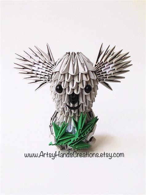 Origami Koala - 3d origami koala origami 3d koala origami koala paper