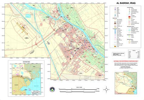 basra map iraq basra simple the free encyclopedia