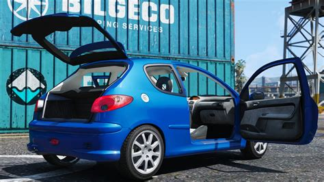 peugeot 206 modifications peugeot 206 gti gta5 mods