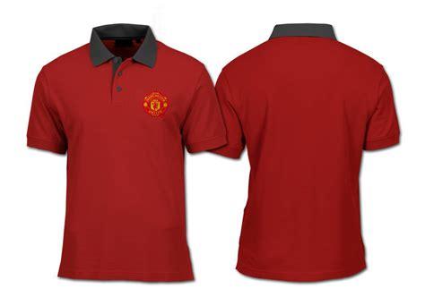 Kaos Baju Tshirt United jual kaos polo shirt bola mu manchester united ggmu polos