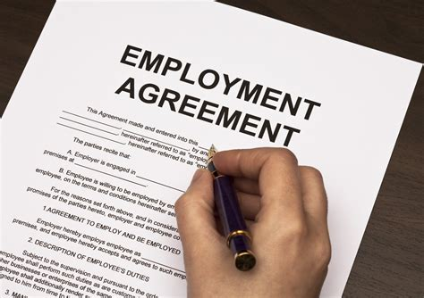 our employment contract template lawyers legal forms and