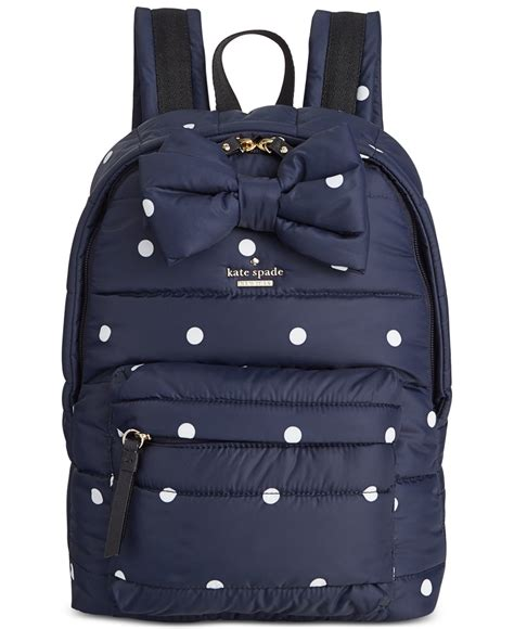 Kate Spade Hillo Backpack Small lyst kate spade new york colby court backpack in blue