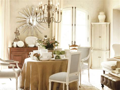 neutral french country dining room hgtv