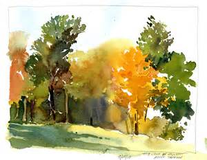 plein air watercolor sketches tony conner artists blog