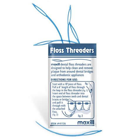 floss threaders floss oral care dental products