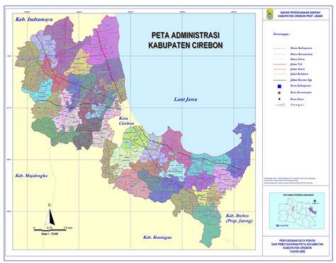letak geografis kabupaten cirebon  tentang cirebon