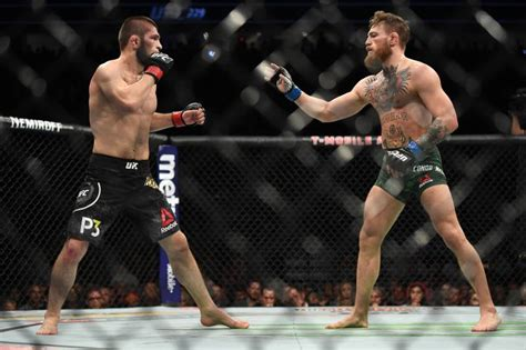 conor mcgregor called dana white   rematch  khabib