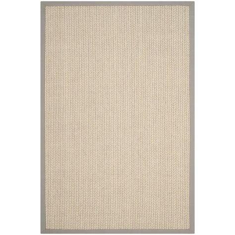 9 ft rugs safavieh fiber grey 9 ft x 12 ft area rug nf475a