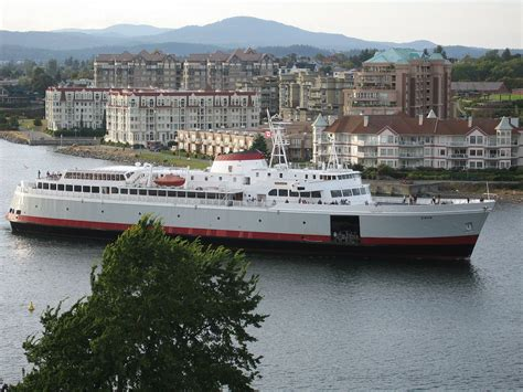Port Angeles Car Ferry by Mv Coho
