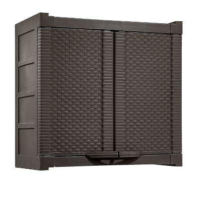 armario homecenter armario gabinete 2 puertas 65 5x70 5x40 cm wengue