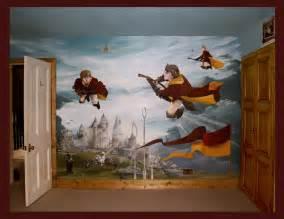 Hogwarts Wall Mural mural portfolio