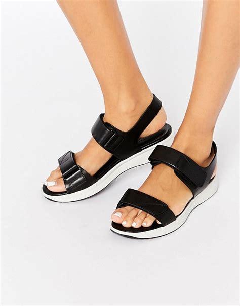 vagabond sandals vagabond vagabond lola leather black sandals
