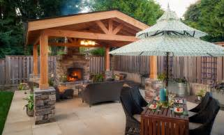 Covered Backyard Patio Ideas Covered Concrete Patio Designs Landscaping Gardening Ideas