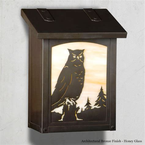 Handmade Mailboxes - owl mailbox american handmade to order family owned