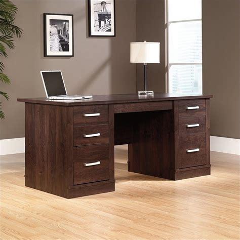 Sauder Office Port Executive Desk by Sauder Office Port Executive Computer Desk In Alder