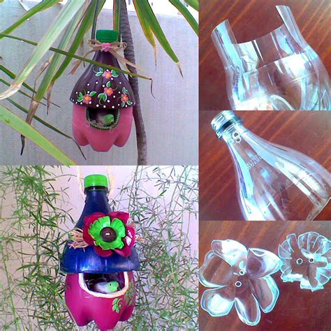 Botol Minum Hewan Pet Outdoor Kettle diy easy to make plastic bottle bird house find