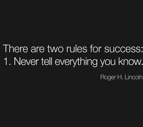 inspirational quotes there are two rules for success