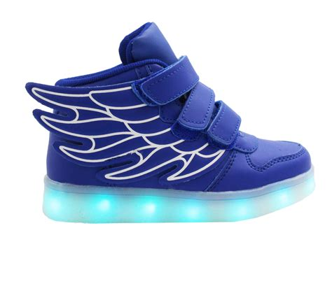 26 30 Wings Led Shoes led shoes pink wings led sneakers unisex shoes