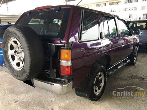 nissan terrano 1997 interior nissan terrano 1997 2 4 in johor manual suv purple for rm