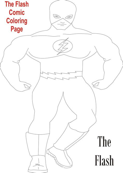 flashcard template pages the flash dc coloring pages coloring pages