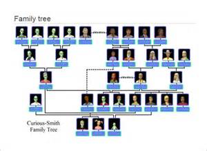 pretty family tree template large family tree template 13 free sle exle