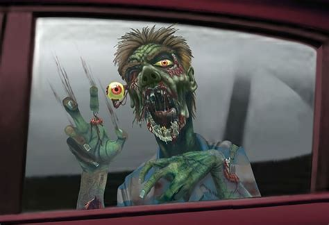 Car Sticker Zombie by Gallery Zombie Decals For Guns