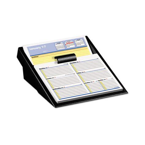 at a glance flip a week desk calendar and base at a glance flip a week desk calendar refill with