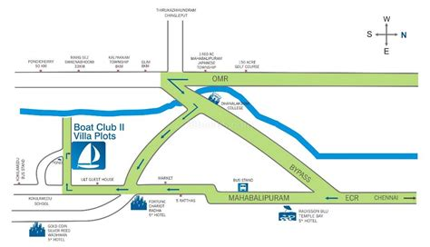 boat club road map chattels boat club 2 2 4 bhk luxurious villas at east