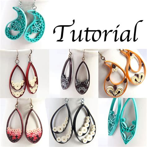 quilling teardrop tutorial tutorial for paper quilled jewelry pdf paisley and teardrop