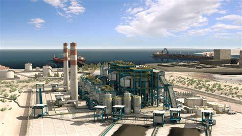 render plant power plant em 3d visualization for engineering