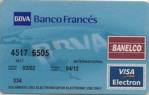banco frances argentina tarjeta de banco banco franc 233 s banco franc 233 s bbva