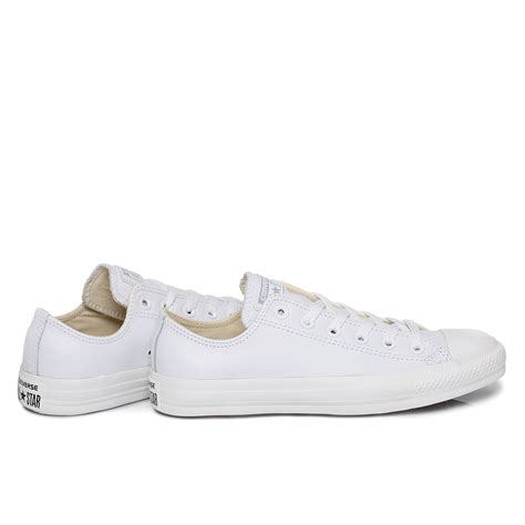 Converse Allstart By Pray Shoes converse lt white monochrome chuck leather trainers