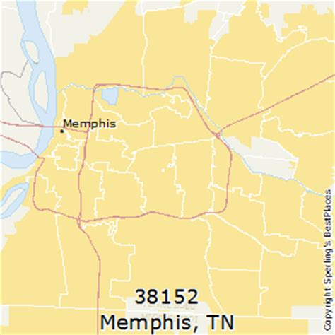 zip code map for memphis tn best places to live in memphis zip 38152 tennessee