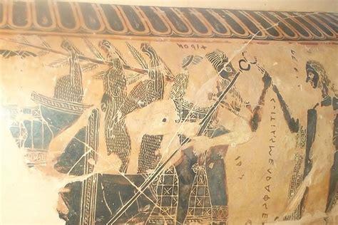 vaso attico vaso attico 570 a c firenze museo archeologico vaso