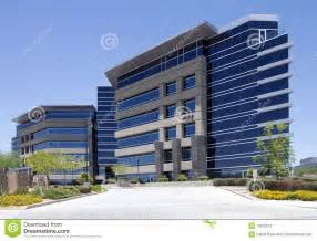New modern corporate office building exterior royalty free stock
