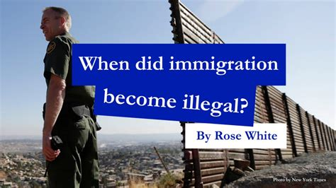 undocumented how immigration became illegal books when did immigration become illegal white medium