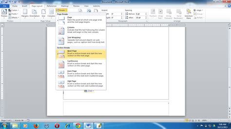 cara membuat daftar isi berbeda file cara membuat format nomor yang berbeda dalam satu file