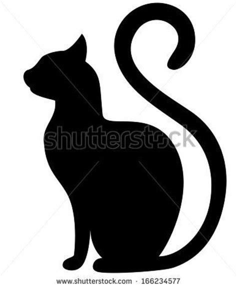 tattoo black cat silhouette cat silhouette tattoo www pixshark com images