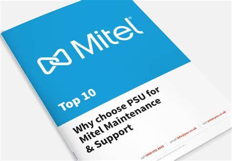 psu it service desk why psu for mitel maintenance