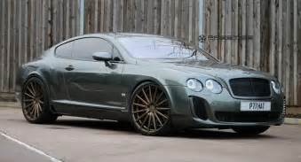 Bentley Continental Bentley Continental Gt Supersports Struts Its New Shoes