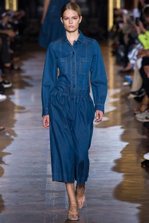 denim trends women spring 2015 stella mccartney spring fashion shows collection 2015 13